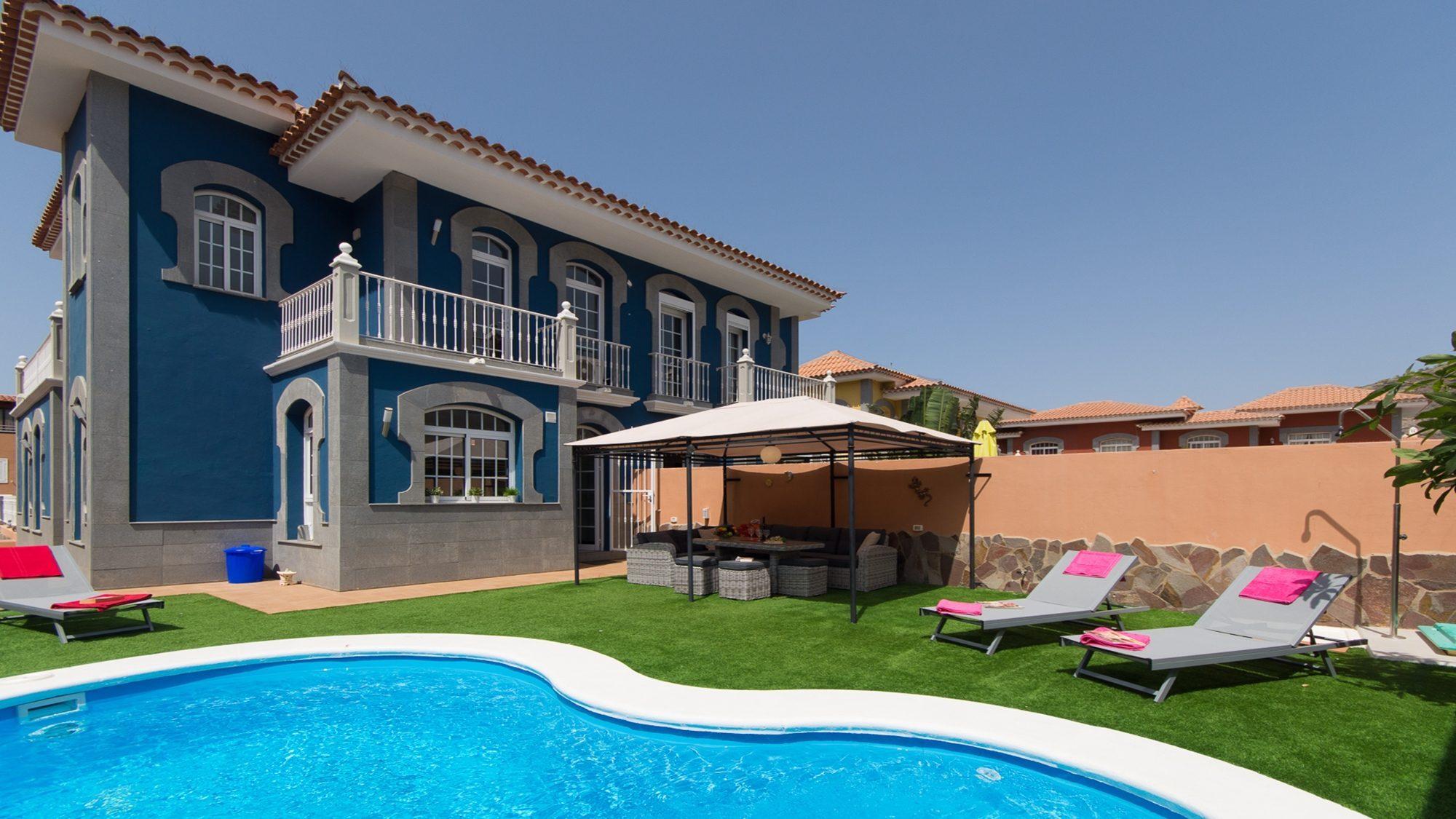 3 Bedroom Villas to Rent in Tenerife | Private Heated Pool ...
